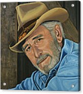 Don Williams Painting Acrylic Print