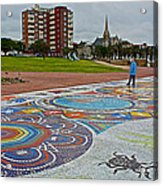 Donkin Reserve In Port Elizabeth-south Africa  Acrylic Print
