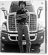 Don't Mess With My Truck Acrylic Print