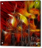 Doobies-93-keith-gg4-fractal Acrylic Print