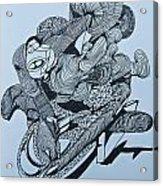 Doodle - 02 Acrylic Print