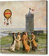 Doonagore Maidens Acrylic Print