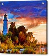 Door County Cana Island Wisp Acrylic Print