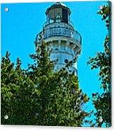 Door County Wi Lighthouse Acrylic Print