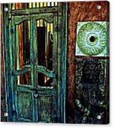 Door Guard Acrylic Print