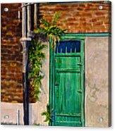 Door In New Orleans Acrylic Print