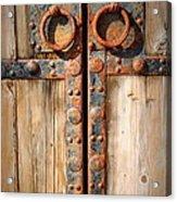 Door To Ancient Secrets Acrylic Print