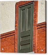 Door To No Where Acrylic Print