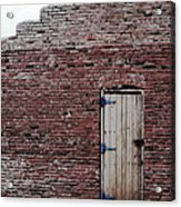 Door To Outside  Acrylic Print