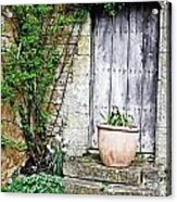 Door To The Cotswolds Acrylic Print