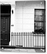 Door Window And Fence Acrylic Print