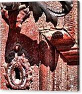 Doorknob Vintage Mechanism Acrylic Print