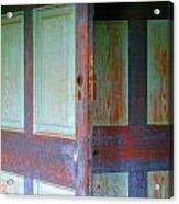 Doors Ajar Acrylic Print