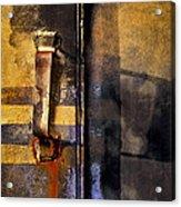 Doors And Handle Acrylic Print