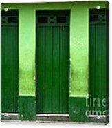 Doors And Windows Lencois Brazil 1 Acrylic Print