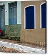 Doors And Windows Lencois Brazil 3 Acrylic Print