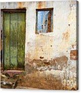 Doors And Windows Lencois Brazil 4 Acrylic Print