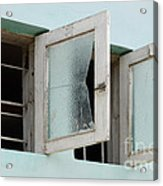 Doors And Windows Lencois Brazil 5 Acrylic Print