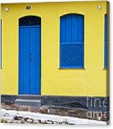 Doors And Windows Lencois Brazil 8 Acrylic Print
