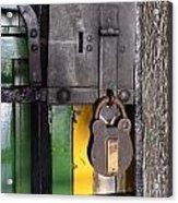Doors And Windows Minas Gerais State Brazil 12 Acrylic Print