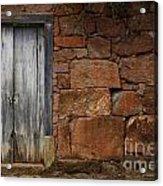 Doors And Windows Minas Gerais State Brazil 3 Acrylic Print