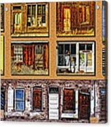 Doors And Windows Acrylic Print