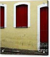 Doors And Windows Salvador Brazil 1 Acrylic Print