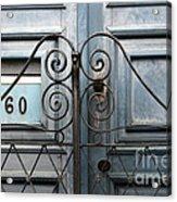 Doors And Windows Salvador Brazil 2 Acrylic Print