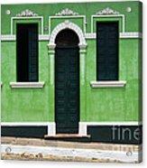 Doors And Wndows Lencois Brazil 7 Acrylic Print