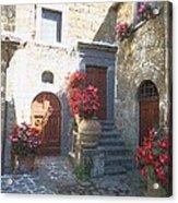 Doors In Bagnoregio Acrylic Print