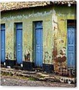 Doors Of Alcantara Brazil 4 Acrylic Print