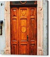 Doors Of Europe Acrylic Print