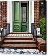 Doors Of Historic Charleston Acrylic Print