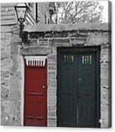 Doors Of St. Augustine Acrylic Print