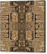 Doors Of Zanzibar Allspice Acrylic Print