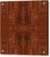 Doors Of Zanzibar Cayenne Acrylic Print