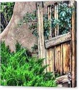 Door, Santuario De Chimayo Acrylic Print
