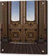 Doors To The Old West Acrylic Print