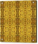 Doors Zanzibar Saffron Acrylic Print