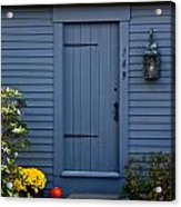 Doorway In Maine Acrylic Print