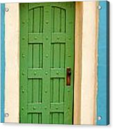 Doorway In The Hollywood Hills Acrylic Print