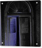 Doorway Into The Dark Acrylic Print