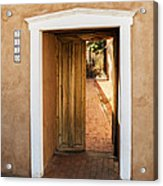 Doorway - Mesilla New Mexico Acrylic Print