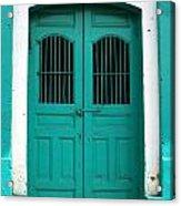 Doorway Of Nicaragua 002 Acrylic Print