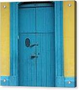 Doorway Of Nicaragua 003 Acrylic Print