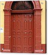 Doorway Of Nicaragua 004 Acrylic Print