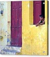 Doorway Of Nicaragua 005 Acrylic Print