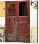 Doorway Of Nicaragua 006 Acrylic Print