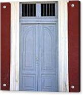 Doorway Of Nicaragua 010 Acrylic Print