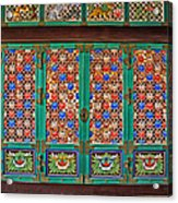 Doorway To The Dharma King Pavilion Acrylic Print